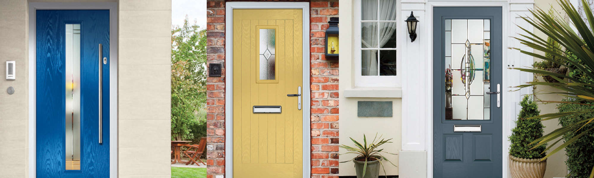 News & Bring a Splash of Colour to Your Home With A Composite Door in Derby