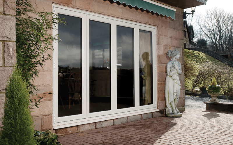 Eurocell Apect PVCu Bifold Doors