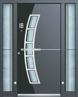 Aluminium Entrance Doors | Aluminium Front & Back Doors - Trade ...