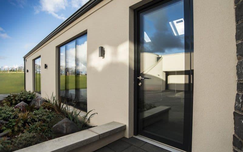 Fully Glazed Door