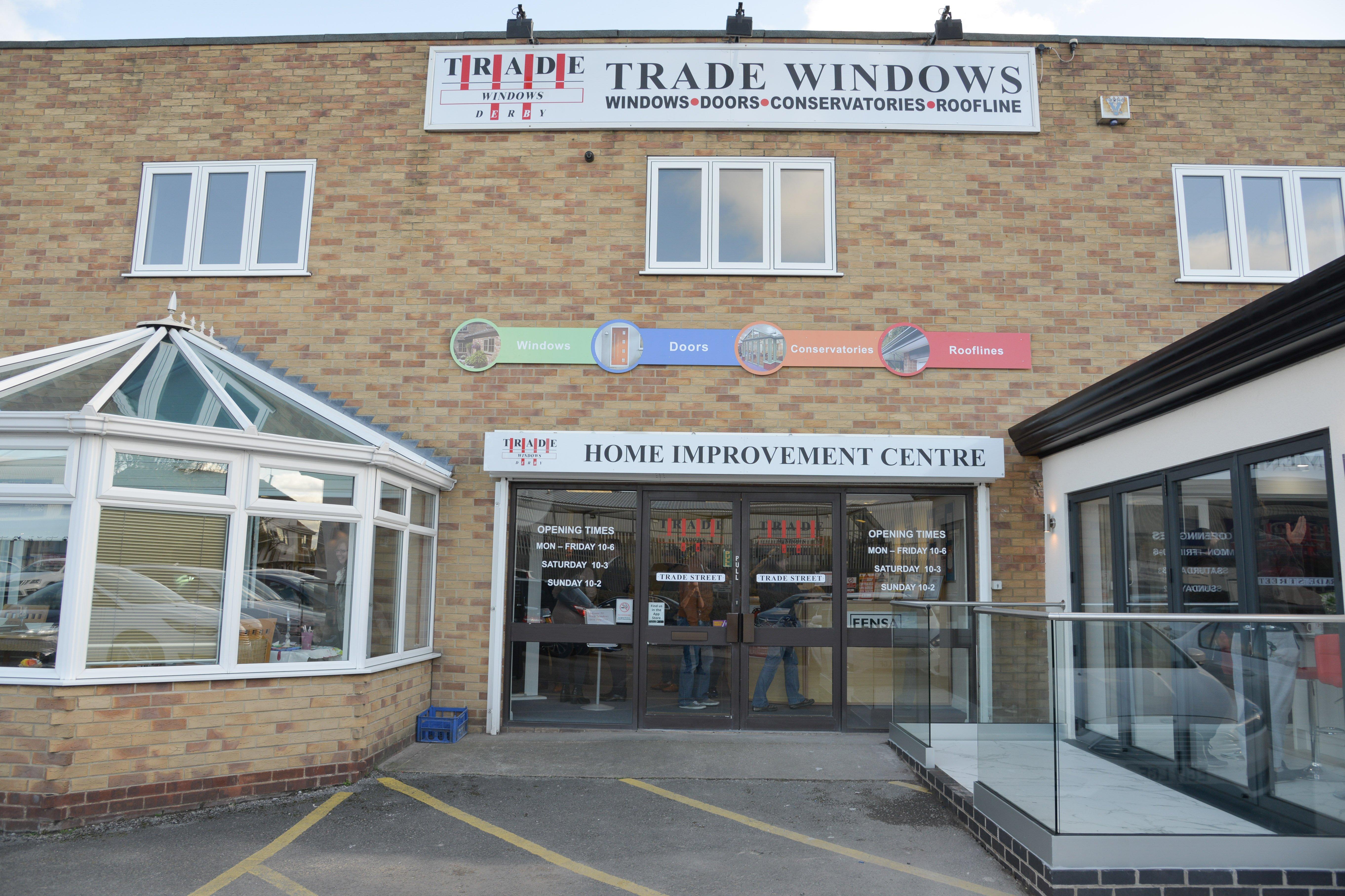 Trade Windows Derby Showroom