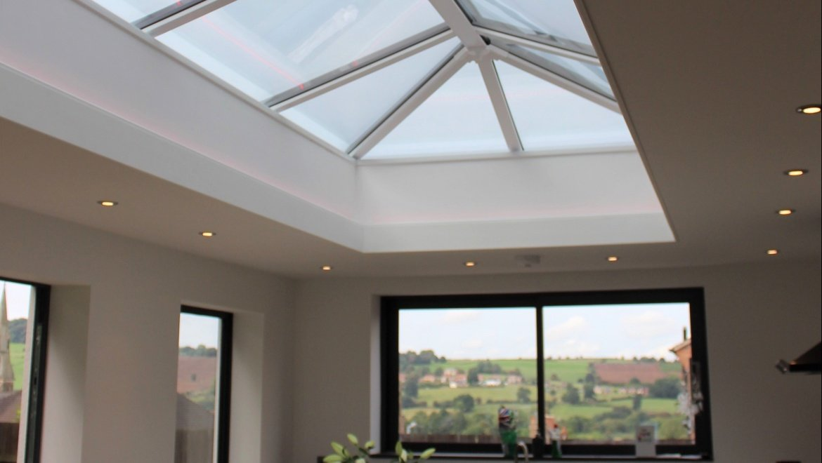 Derby rooflight in kitchen Trade Windows