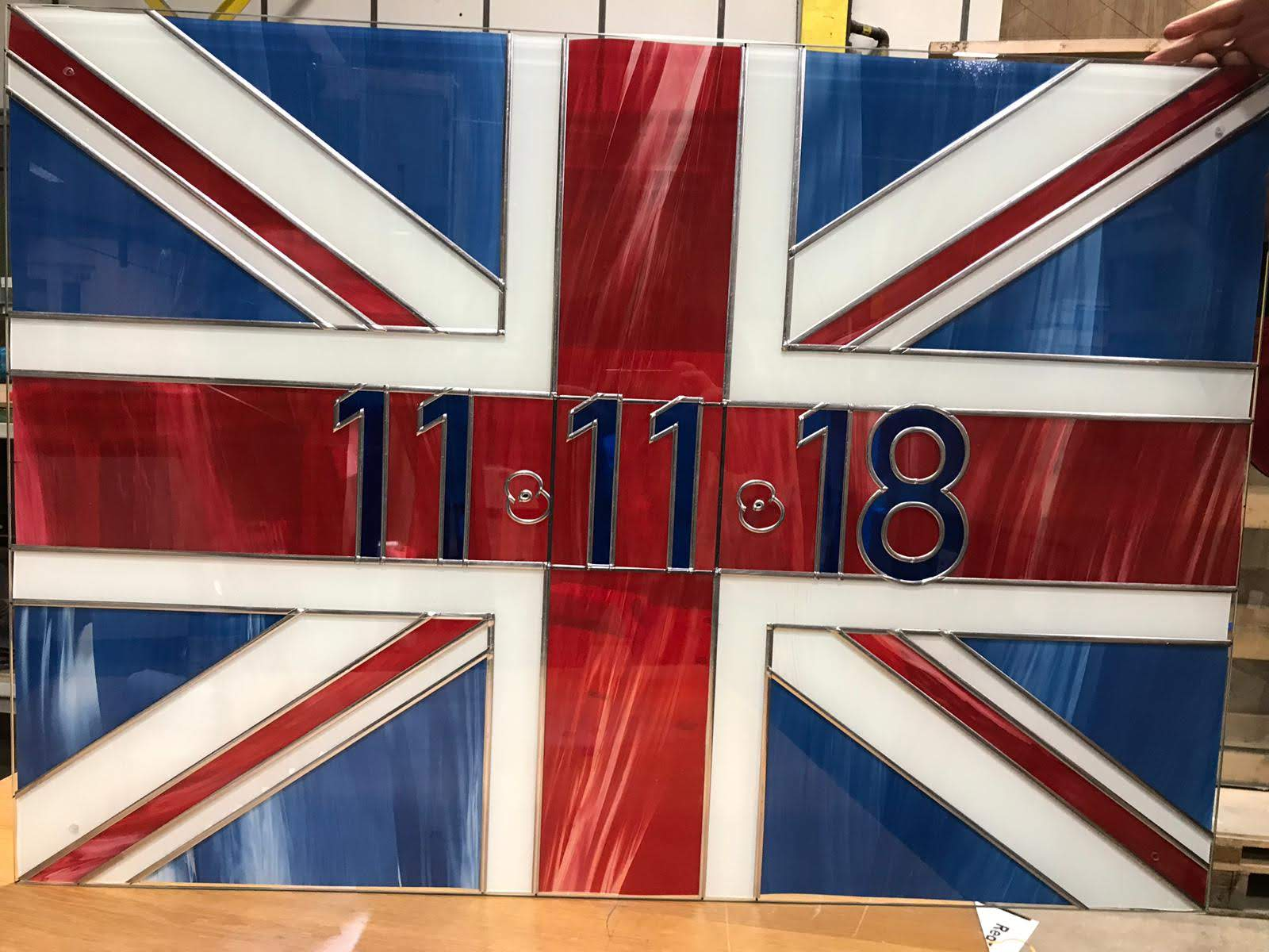 Trade Windows Remembrance Day Glass